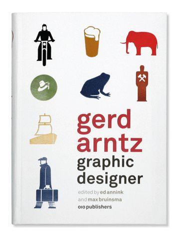 Graphic Design-gerd arntz, book