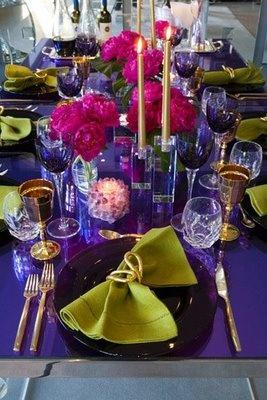 tablescape. #party #decor