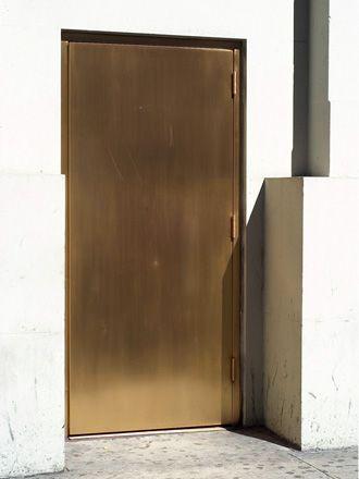 // Brass Door