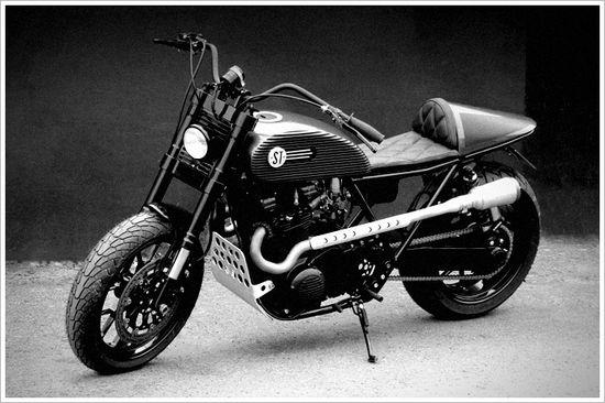 Kawasaki Z750B by Street TuffCustoms - Pipeburn - Purveyors of Classic Motorcycles, Cafe Racers & Custom motorbikes