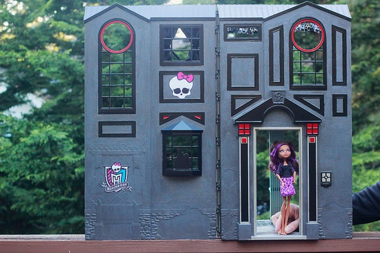 outside of our doll house
