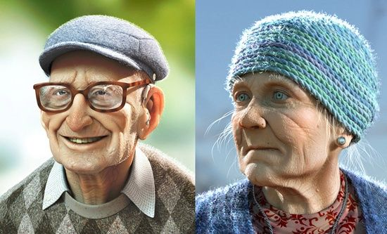 20 Beautiful and Creative 3D Character Designs for your