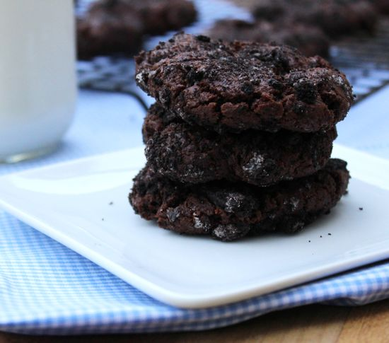 Oreo-Crusted Chocolate Chip Cookies -The Salty Kitchen
