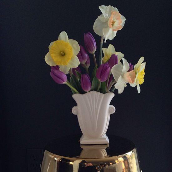 Spring Flower Arrangement by ABCDDesigns