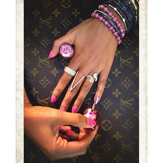 Beyoncé's rings and arm candy!