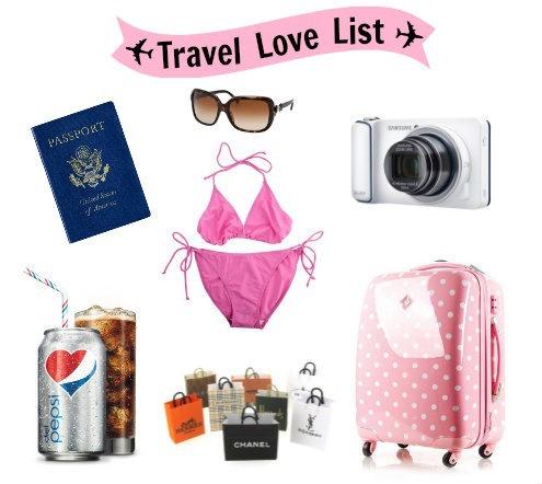 Travel Love List #SharetheLove