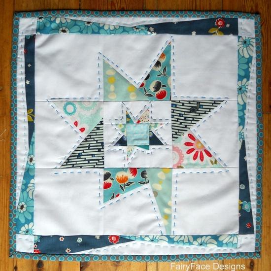 Wonky Star Mini Quilt