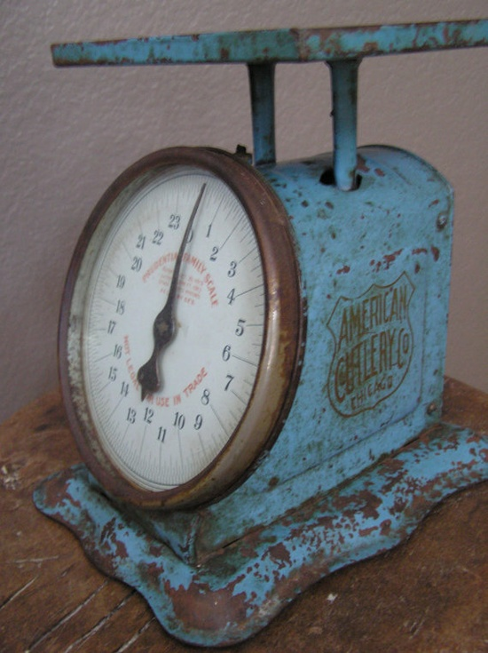 Love old scales.