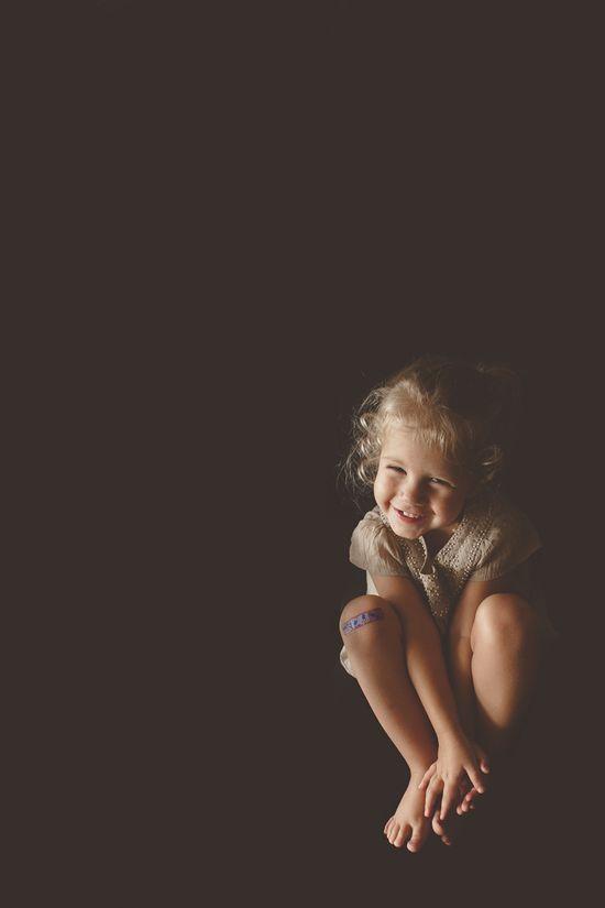 cute kid's portrait