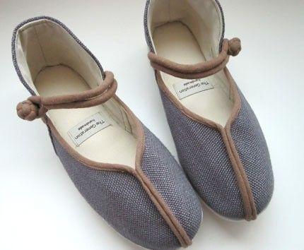 Chic Vegan Mary Jane slippers