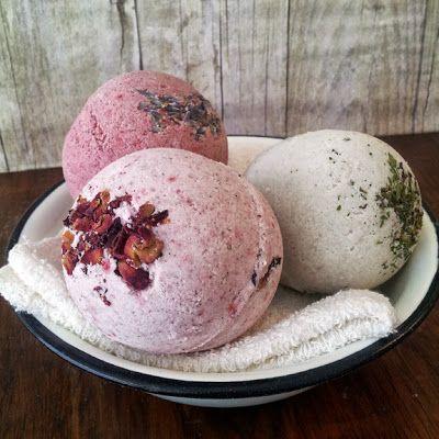 Handmade Soap Gossip: New Botanical Bath Bombs