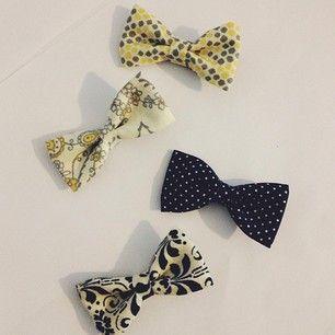 petite handmade bows in my Instagram shop: @shopjoie