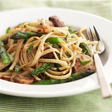 Asparagus-Mushroom Primavera