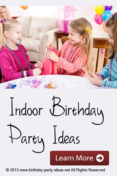 Indoor Birthday Part