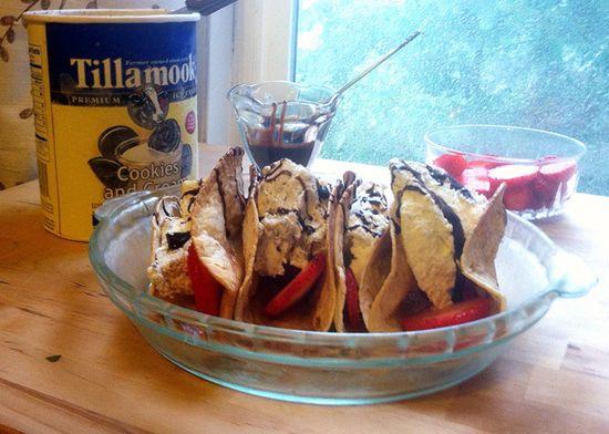 Dessert Tacos