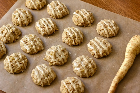 Parsnip Quinoa Cookies