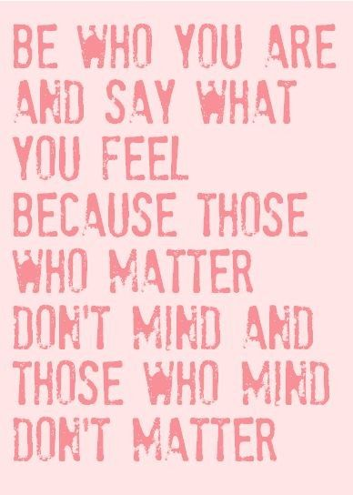 Incredibly true words by the great Dr. Seuss.
