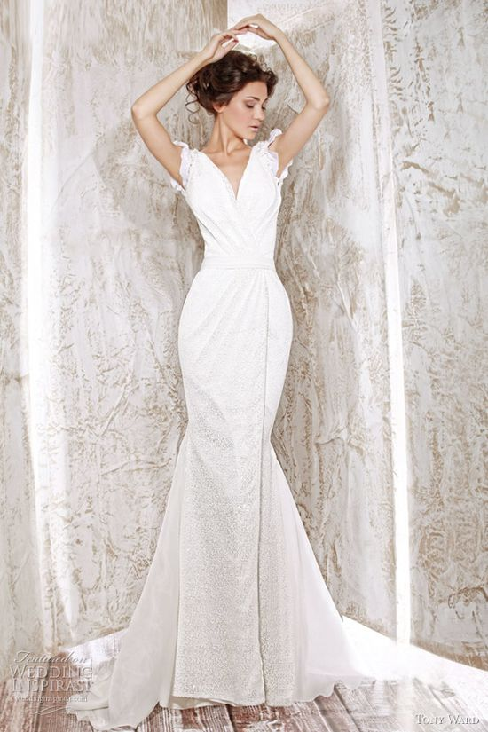 tony ward wedding dress 2012 fleur de lys