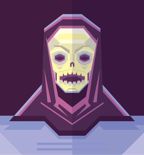 Skeletor Art