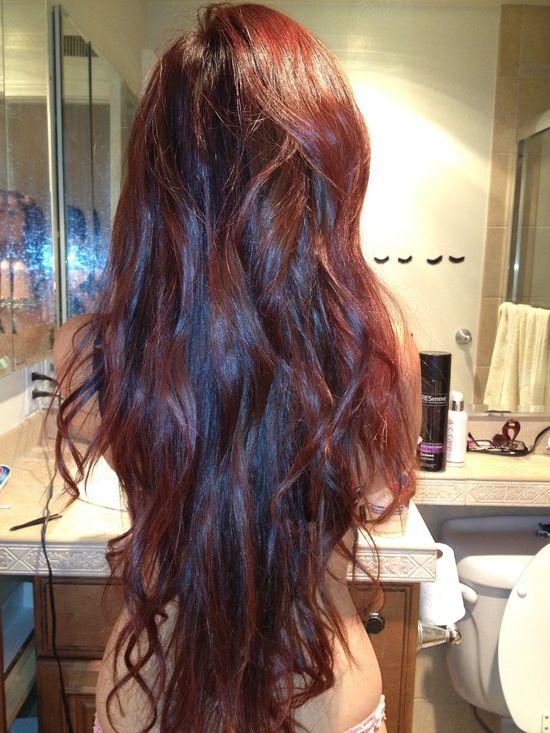 .long hair!