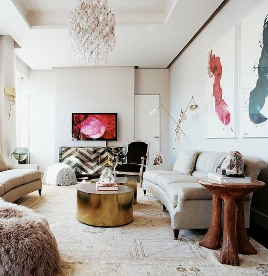 Living room designed by James Nares