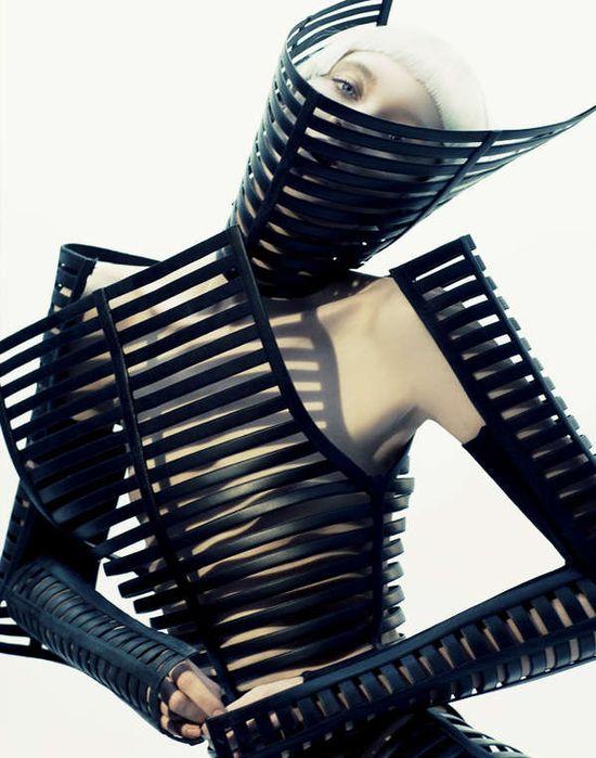 63 Examples of Skeletal Fashion #Fashion #Skeleton www.trendhunter.com