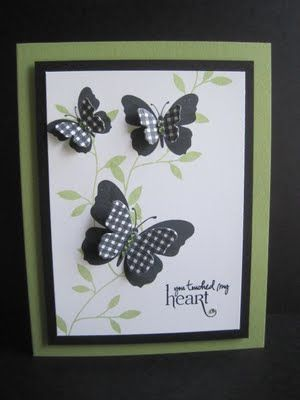 butterfly card.