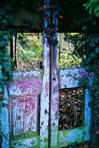 Old door.