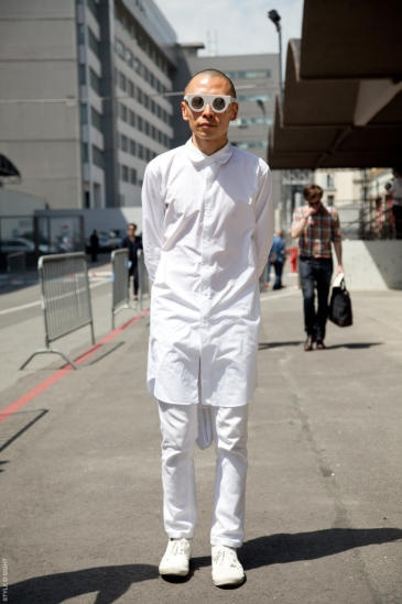 Terence Koh Paris Mens Fashion Week S/S13