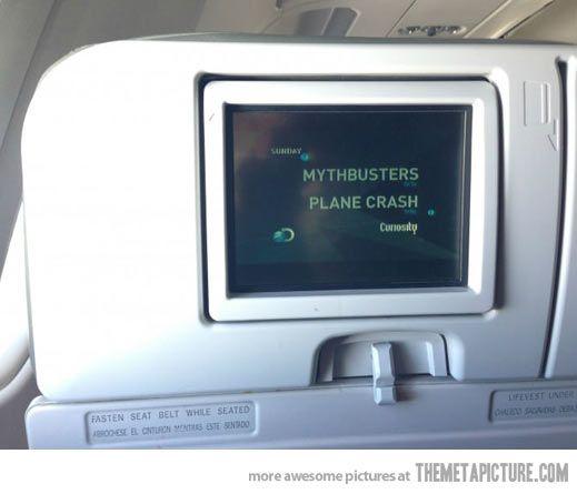 Worst airplane entertainment choice EVER