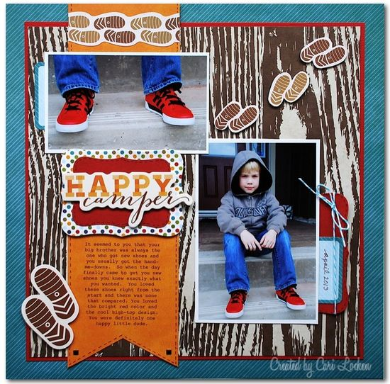 Happy Camper - Scrapbook.com