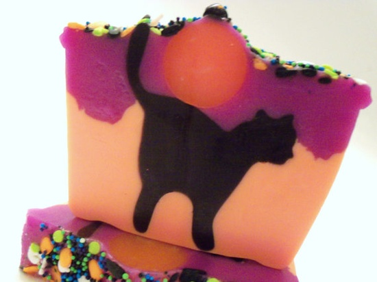 Pink Dotted Owl's Cat Soap