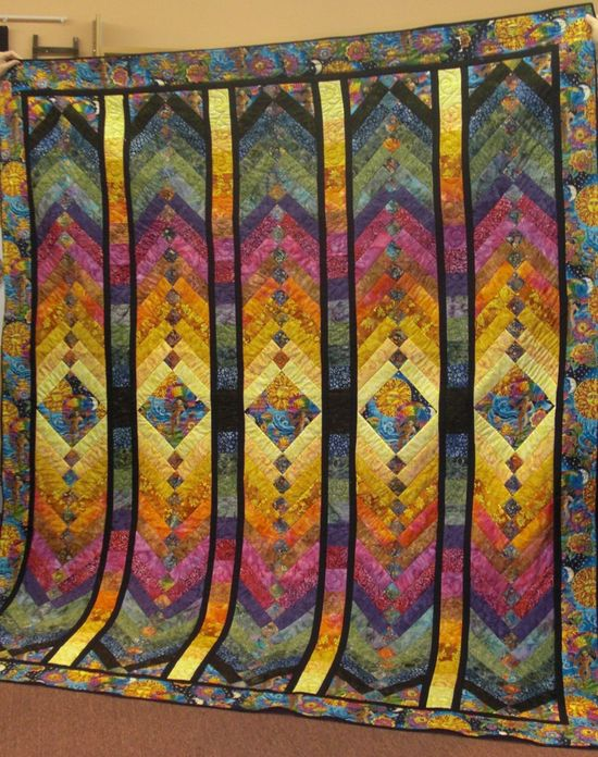 french braid quilt beautiful colors - Google Search