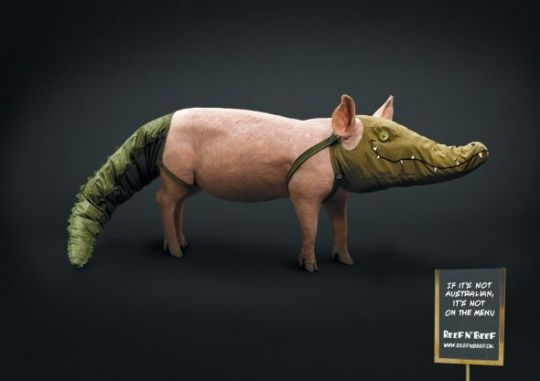 Animals in Print Ads