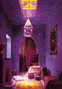 Moroccan Purple Room