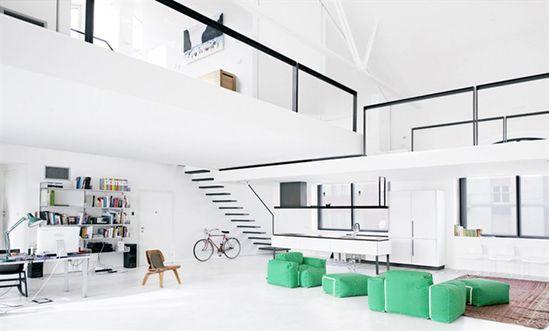 loft n° 1, milano, 2005 by Roberto  Murgia #architecture #design #loft #milano #italy