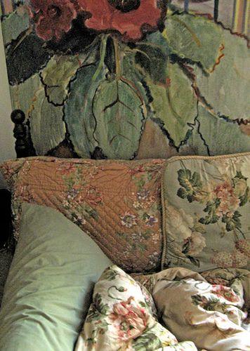 Pastel vintage bedroom