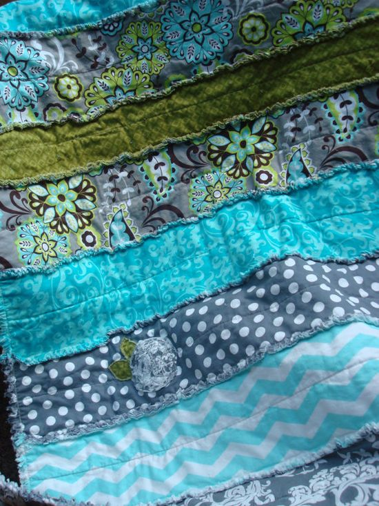 RAG QUILT Throw - CUSTOM Handmade Quilt - ready to sew one up for you or someone you love today!!
