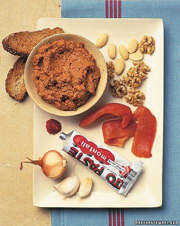 Spicy Red Pepper & Walnut Dip