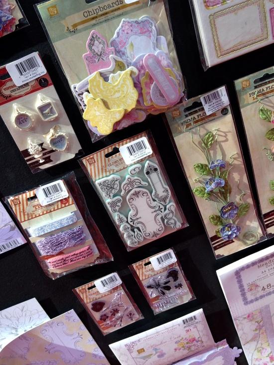New Prima CHA - Meadow Lark Collection Embellishments - Scrapbook.com