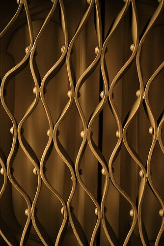 La Pedrera interior detail, Gaudi Barcelona