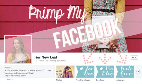 How to add apps and tabs to your Facebook page via Her New Leaf