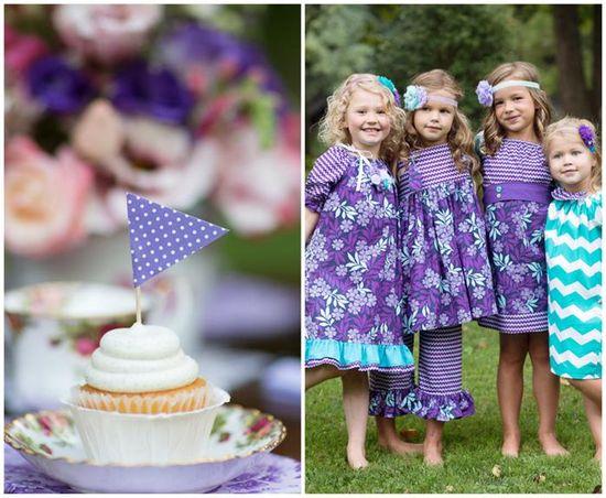 Garden Tea Party with Lots of Cute Ideas via Kara's Party Ideas
