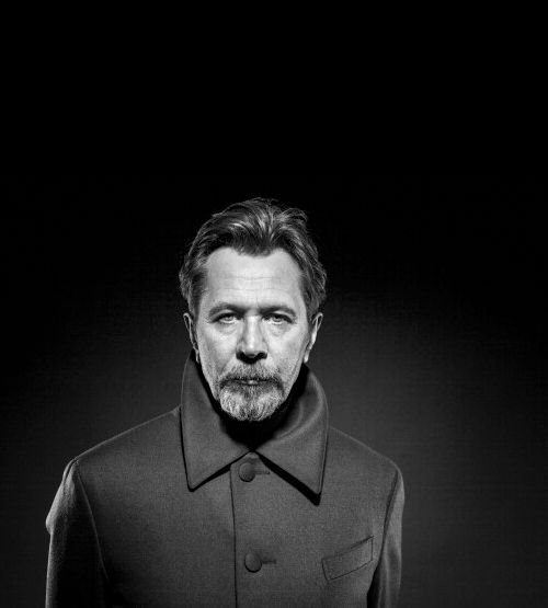 Gary Oldman, photograph by Lionel Deluy