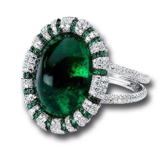 ? Emerald / Diamond Ring ?