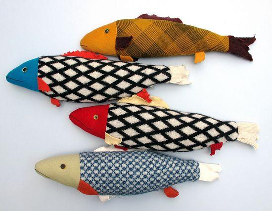 Fabric fish by mimi kirchner