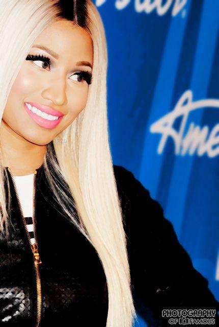 Nicki Minaj at American idol