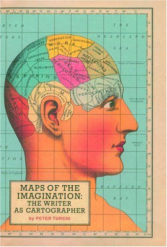 Book Cover// Maps Of The Imagination, by Peter Turchi - Designer: Pentagram