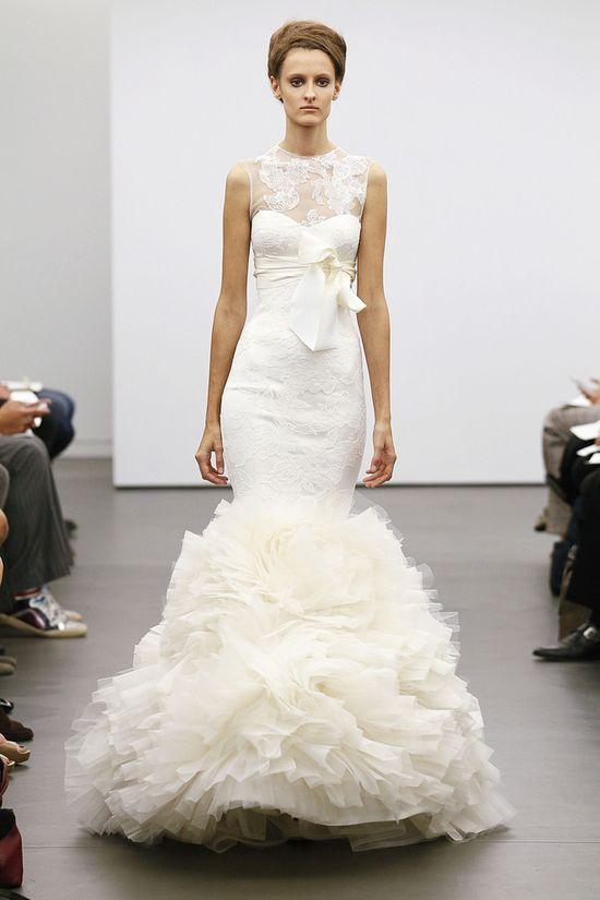 Vera Wang, Fall 2013 #bridalmarket