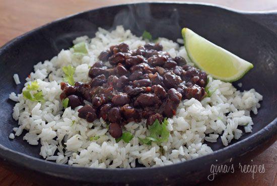 Black bean recipe.